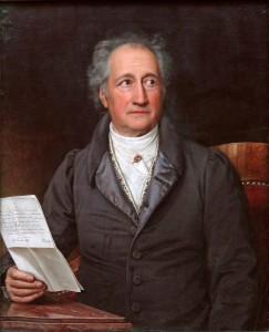ゲーテの肖像画 (1828年)