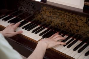 ブラームスのピアノ